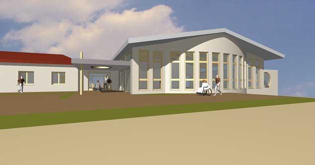 Spenden Projekt Sportraum Schule Belzig