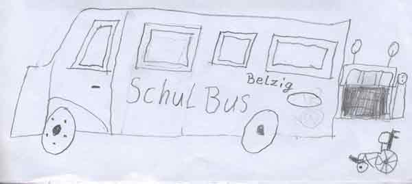 Schulbus Förderschule Belzig